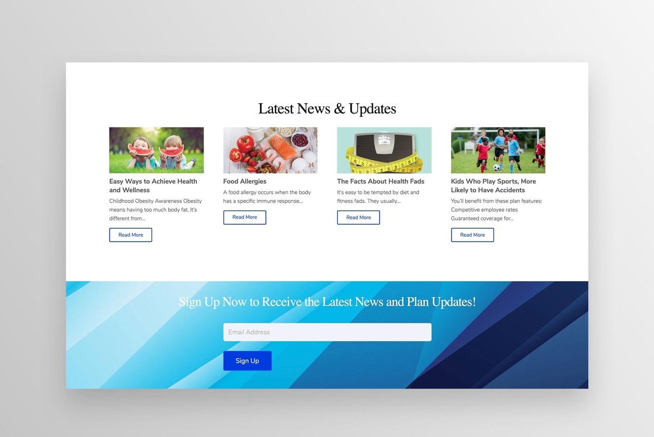 خوراک وبلاگ در صفحه اصلی نمایش داده می شود